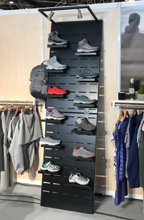 Lafuma shoes display