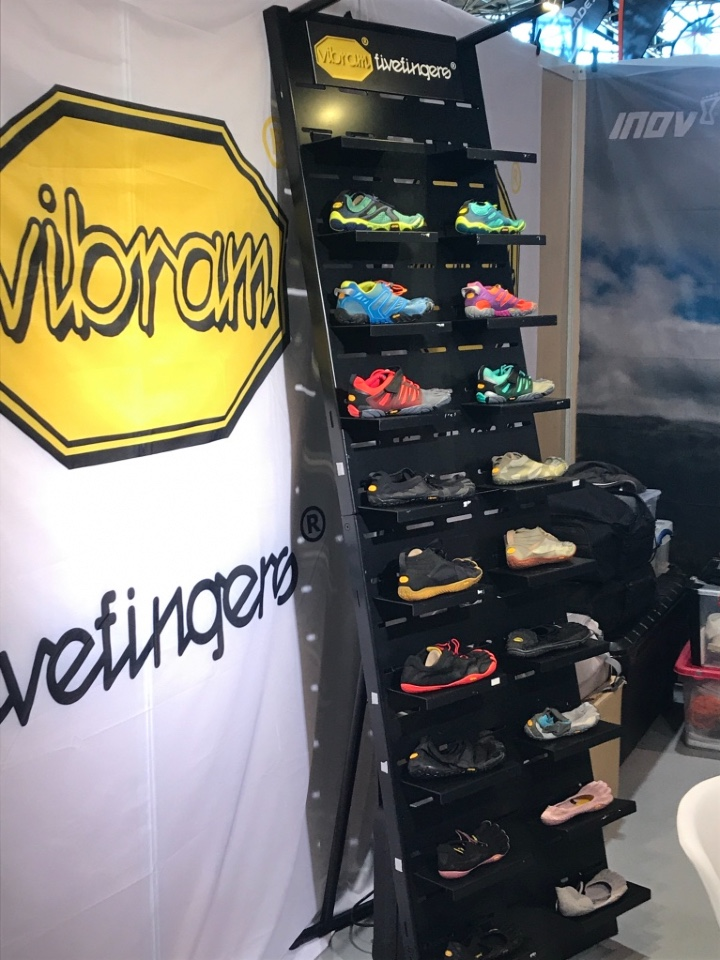 Vibram shoes display 1