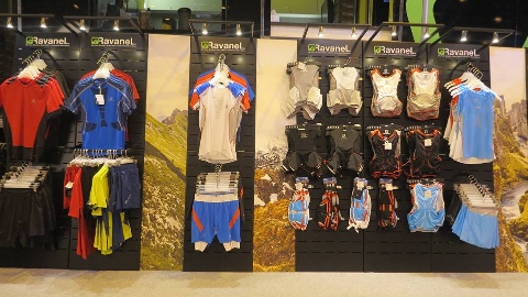 Ravanel textiles displays