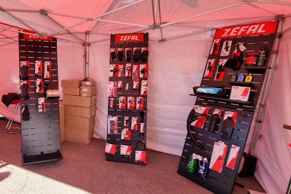 Zéfal cycle accessories displays