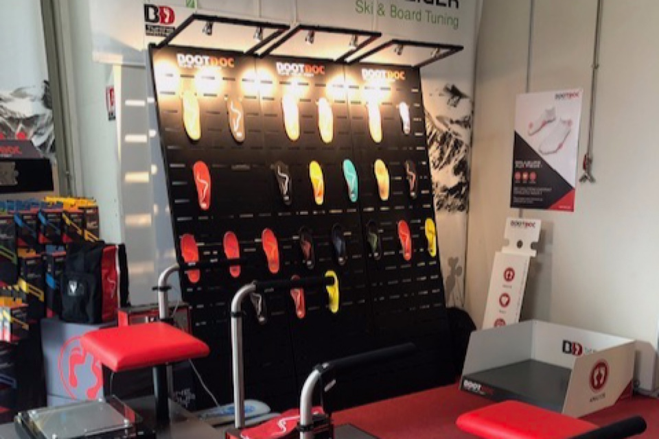 BootDoc insoles displays