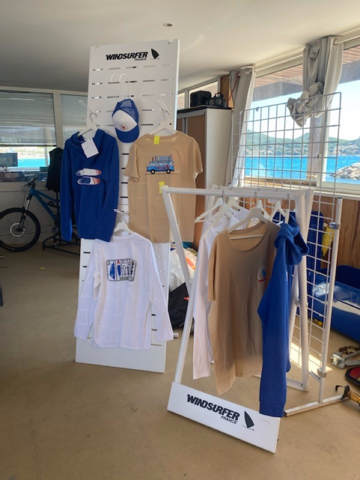 Windsurfer textile displays 2